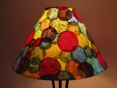 Colorful Circle Shade Janet Wood 2005